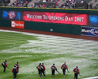 2007 Cleveland Indians season - The 2007 home opener at Jacobs Field