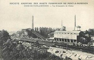 Camille Cavallier - Factory at Pont-à-Mousson