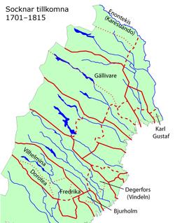 svenska vattendrag karta WikiZero   Norrbotten svenska vattendrag karta