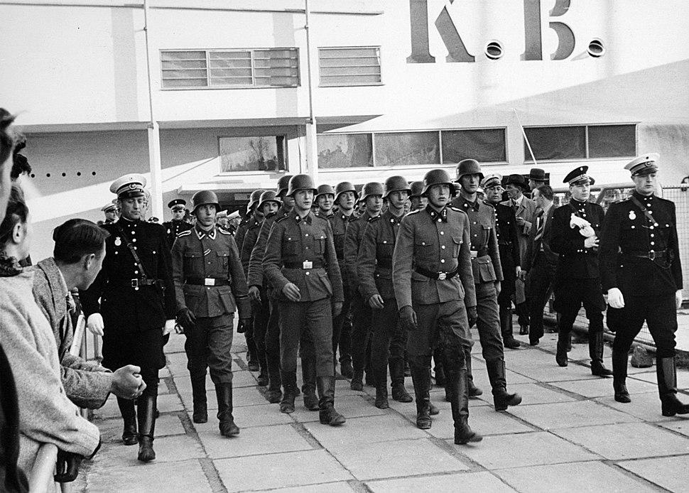 Soldater fra Frikorps Danmark 26. april 1942
