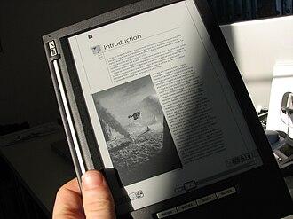 ILiad - iLiad e-book reader equipped with e-paper display