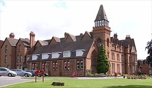 Solihull School - School House, designed by J. A. Chatwin in 1882