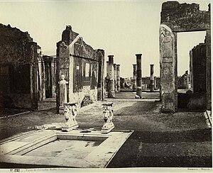 Cornelia (gens) - House of Cornelius Rufus, Pompeii