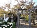 Sonogi-jinja Ichi-no-torii and site of Honjin in Sonogi-shuku.jpg