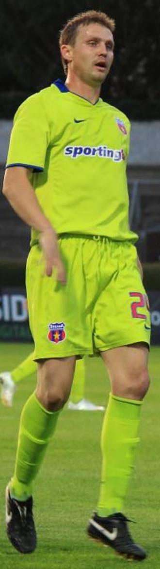 Sorin Ghionea - Ghionea playing for Steaua in 2009