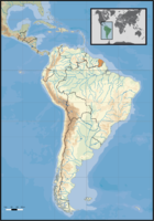 Situación de Guayana Francesa