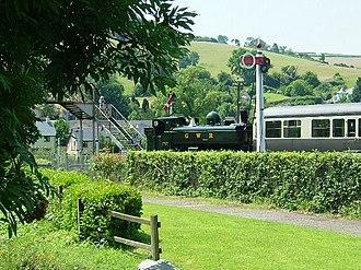 South Devon Railway (heritage railway) - Image: South Devon Railway, Buckfastleigh geograph.org.uk 195967