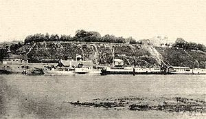Sozh River - Sozh River in Gomel, 1890s