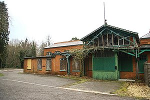 Woodhall Spa - The derelict Spa Baths in 2009