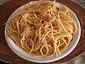Spaghetti agll' aglio, olio e peperoncino by matsuyuki.jpg