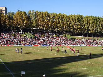 Spain national rugby union team - Spain playing against the Czech Republic in 2007.