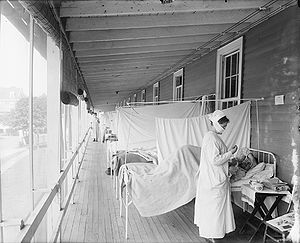 1918 in the United States - 1918 flu pandemic