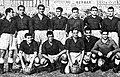 Spanish national football team before the match against Catalonia national football team in Barcelona, 19.10.1947.jpg