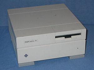 SPARCstation IPC - A SPARCstation IPC workstation.