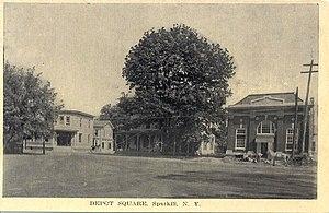 Sparkill, New York - Image: Sparkill depot square