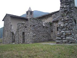 Castle (Rocca)of King Arduin of Ivrea.