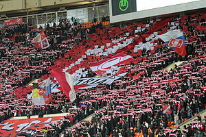 Oldest Russian derby - Spartak supporters