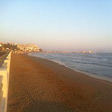 Spiaggia di Levante all'alba