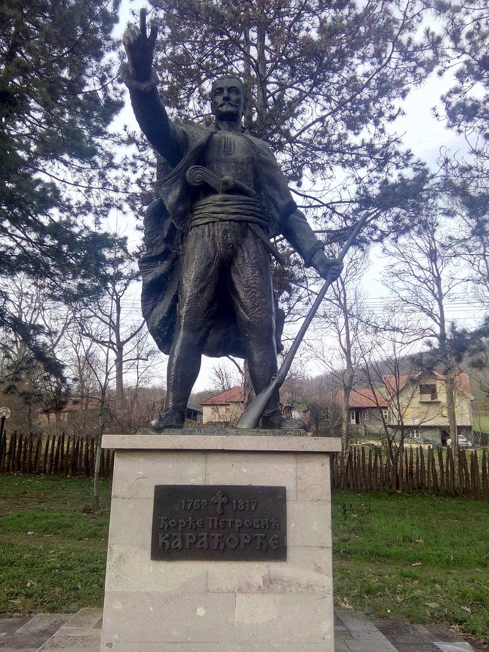 Spomenik Karađorđu u Viševcu