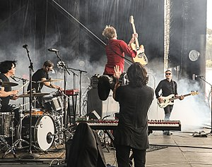 Spoon (band) - Spoon performing at Outside Lands festival in 2014