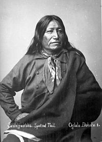 photograph of Chief Spotted Tail