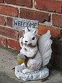 Squirrel Statue with Welcome Sign.jpg