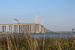 Saint-Nazaire - The Pont de Saint-Nazaire, which crosses the Loire