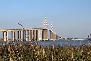 Saint-Nazaire - The Pont de Saint-Nazaire, which crosses the Loire