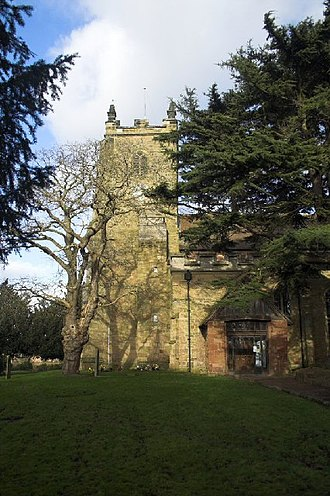 Kingsbury, Warwickshire - Image: St. Peter and St. Paul's church, Kingsbury geograph.org.uk 108619