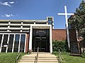 St. Philip's Lutheran Church (1958, Frederic Moehle & Rev. Francis B. Smith), 501 N. Caroline Street, Baltimore, MD 21205 (34226533283).jpg