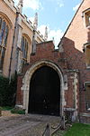 St John's College, Cambridge - Gateway to St John's Street to South of the College Buildings.JPG