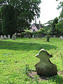 St John the Baptist's Church - churchyard - geograph.org.uk - 1356668.jpg