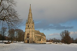 St Mary's, Studley Royal - Image: St Mary's Church, Studley Royal geograph.org.uk 1633547