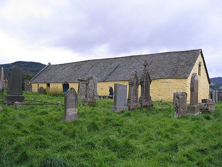 St Mary's Church and graveyard at Grandtully St Mary's Church and graveyard at Grandtully - geograph.org.uk - 560473.jpg