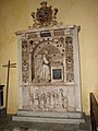 St Mary's church - monument to Bridget Paston-Coke (1598) - geograph.org.uk - 1555104.jpg