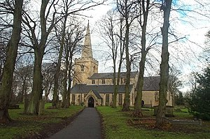 Grade II* listed buildings in Nottinghamshire - Image: St Mary Magdalene Church, Sutton in Ashfield geograph.org.uk 103902