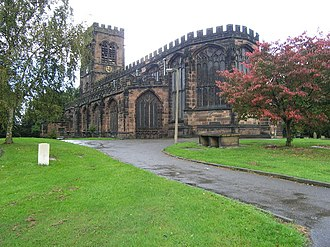 Northwich - St. Helen Witton Church