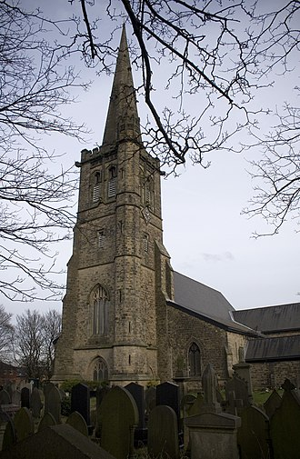Kersal - St Paul's Church, Moor Lane