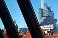 Stadtbibliothek Hannover Blick über die Dächer auf Norddeutsche Landesbank und Neues Rathaus II.jpg