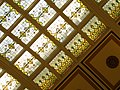 Stained glass (Tiffany) ceiling of Union Station - Nashville.jpg