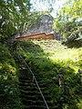 Stairs to Iwaya-jinja Honden.jpg