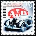Stamp Germany 1999 MiNr2043 Automobilclub von Deutschland.jpg