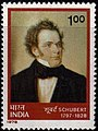 Stamp of India - 1978 - Colnect 327116 - 150th Death Anniversary of Franz Schubert.jpeg