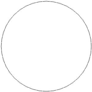 Tetracontagon - Image: Star polygon 40 2