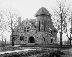 Starkweather Hall - Starkweather Hall, c. 1910