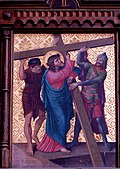 Station 2 Jesus is given his cross, St. Nicholas Church in Elbl?g.JPG