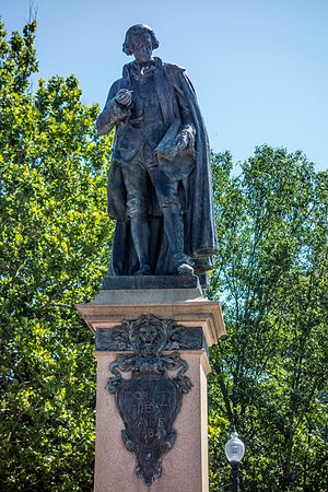 Robert Treat Paine - Statue of Robert Treat Paine by Richard E. Brooks (1904), Taunton, Massachusetts.