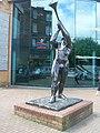 Statue outside Springburn Leisure Centre - geograph.org.uk - 1323469.jpg
