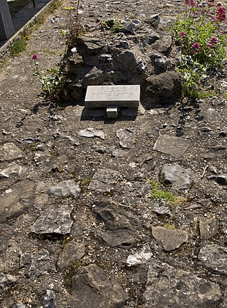 Gregorian mission - Augustine's gravesite at Canterbury