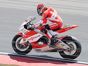 2011 Grand Prix motorcycle racing season - Image: Stefan Bradl 2010 Assen